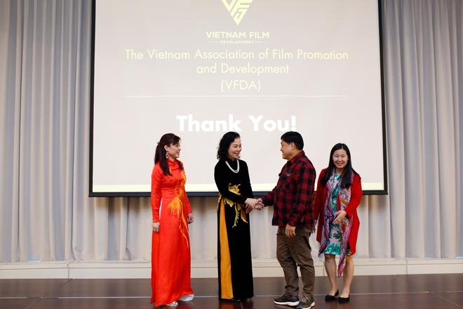 Hiệp hội Xúc tiến và Phát triển Điện ảnh VN ra mắt quốc tế