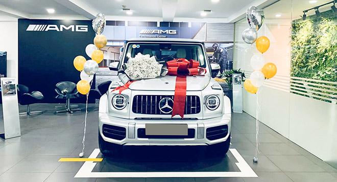 Mercedes-AMG G63 2019 gần 11 tỷ đồng về tay đại gia Sài Gòn