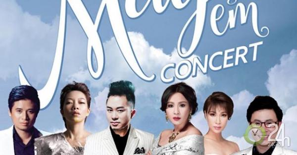 Tùng Dương trở lại sân khấu cùng dàn diva, divo trong liveshow Mây và em - Giải trí