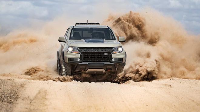 Chevrolet Colorado 2021 trình làng với diện mạo đầy uy lực và mạnh mẽ