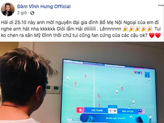 Mr Đàm muốn làm điều đặc biệt cho cả nhà Quang Hải sau bàn thắng tuyệt đẹp vào lưới Malaysia - 1