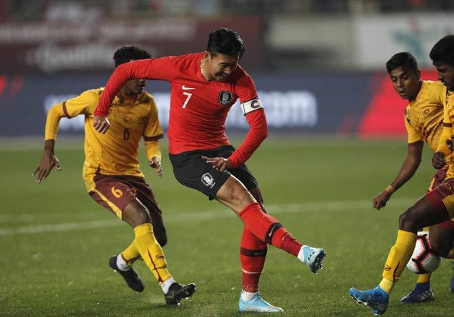 Sững sờ Nhật Bản, Hàn Quốc, Iran nã 28 bàn vào lưới đối thủ vòng loại World Cup - 1