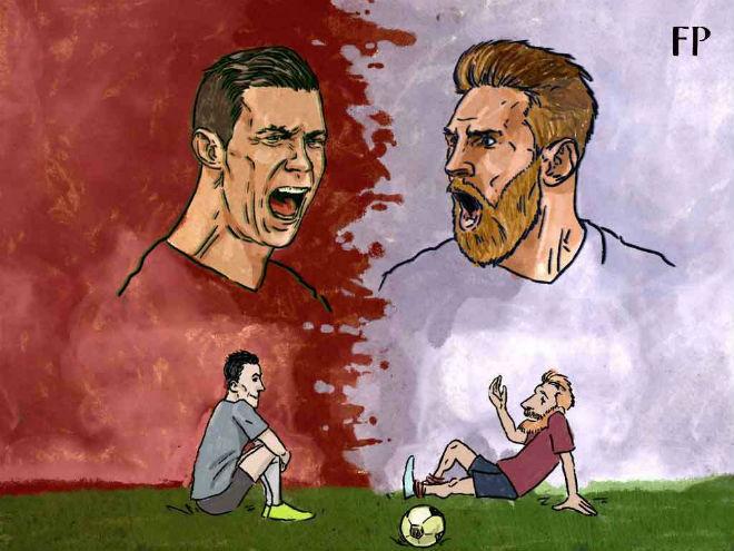 """Ronaldo tỏa sáng áp sát cột mốc 700 bàn, cho Messi """"hít khói"""" kỷ lục - 3"""