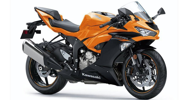 Chiêm ngưỡng màu cam cực nóng bỏng trên Kawasaki ZX-6R 2020