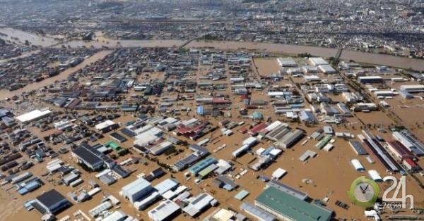 Siêu bão mạnh nhất 6 thập kỷ đổ bộ Nhật Bản: Số người chết tăng vọt-Thế giới