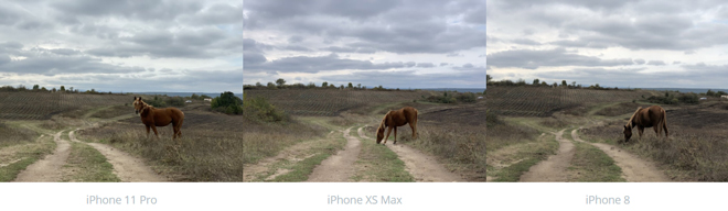 So sánh camera iPhone 11 Pro và iPhone Xs Max, iPhone 8 - 2