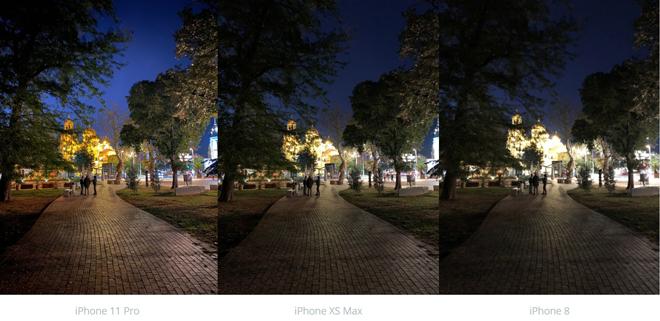 So sánh camera iPhone 11 Pro và iPhone Xs Max, iPhone 8 - 6