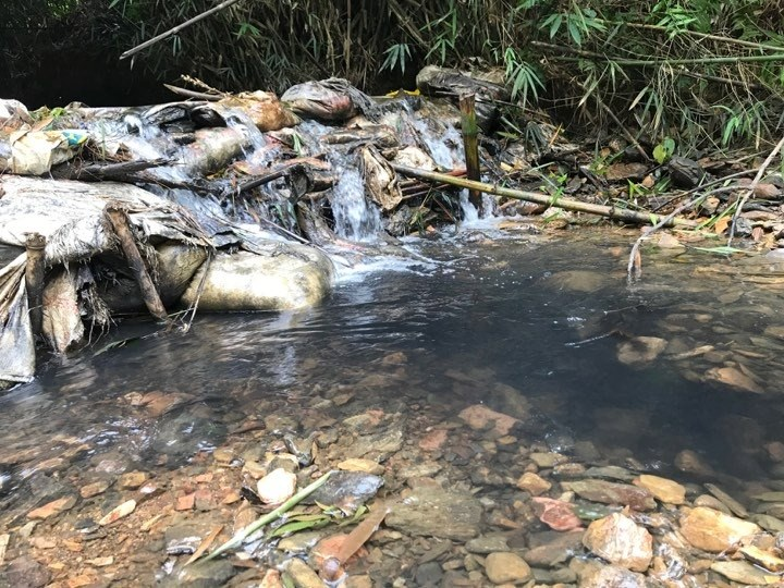 Lãnh đạo nhà máy nước sông Đà thừa nhận có váng dầu ở nước đầu nguồn - 2
