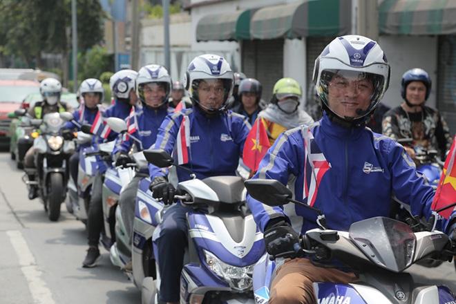 Yamaha Blue core vượt Đông Nam Á, tiết kiệm xăng đến mức nào?