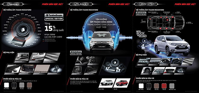 Mitsubishi ra mắt phiên bản đặc biệt cho 3 dòng xe Pajero Sport, Outlander và Xpander - 2