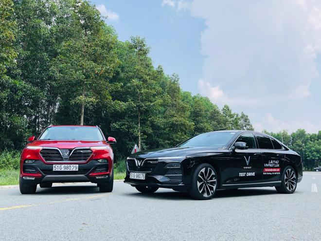 Trải nghiệm nhanh về hai mẫu xe Vinfast LUX SA2.0 và LUX A2.0 - 1