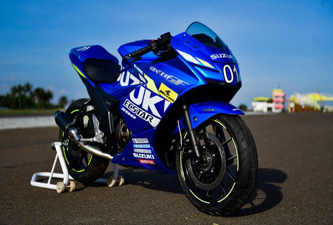 Lộ diện Suzuki Gixxer SF 250 MotoGP, đẹp hút mọi ánh nhìn