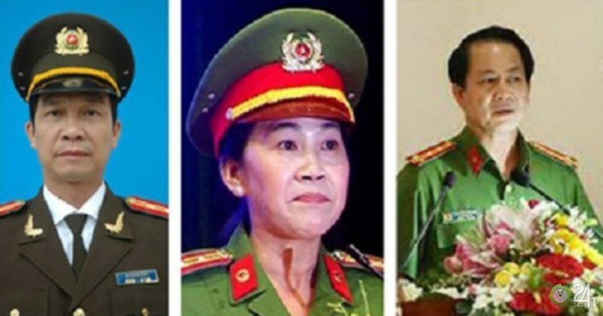 Công bố thi hành kỷ luật 3 Phó giám đốc Công an tỉnh Đồng Nai - Tin tức 24h