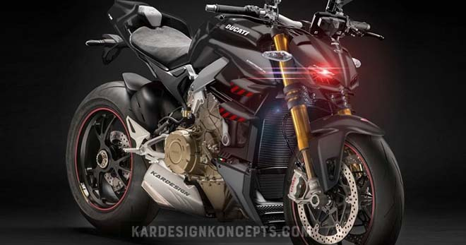 """Ducati StreetFighter V4 ra mắt 23/10: Giá """"dễ chịu"""" - 1"""