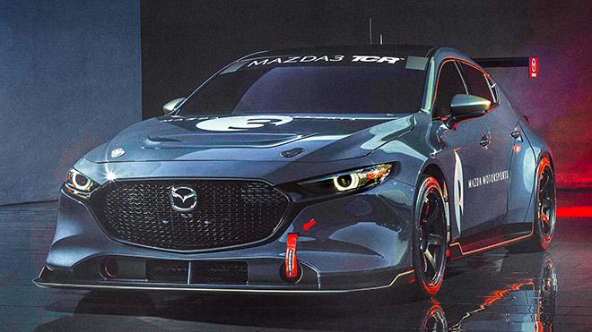 Biến thể xe đua của chiếc Mazda 3 TCR thế hệ mới