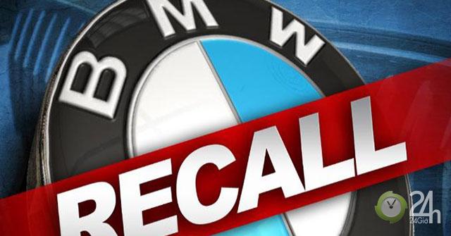 BMW Bắc Mỹ triệu hồi 250.000 xe các loại vì lỗi hệ thống camera de