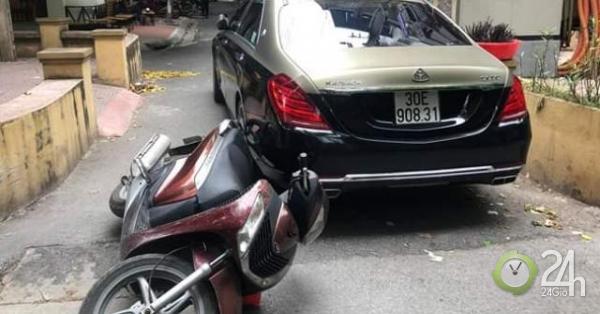 Tự xưng lái xe của Bộ trưởng Bộ Công an, tài xế xe Maybach hung hăng đánh người - Tin tức 24h