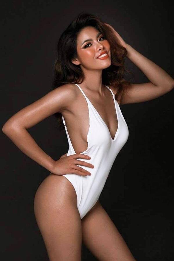 Bí quyết tăng cân không tăng mỡ của cô gái Việt kiều thi Hoa hậu Hoàn vũ