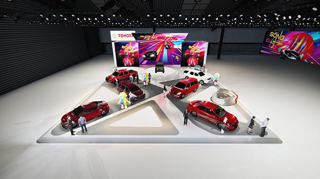 Toyota và Lexus mang đến chủ đề gì trong triển lãm VMS 2019 - 1