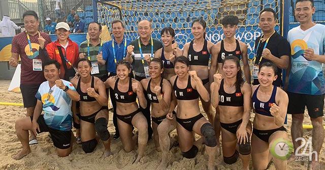 Bóng ném nữ Việt Nam đấu Brazil, tranh huy chương World Cup 2019