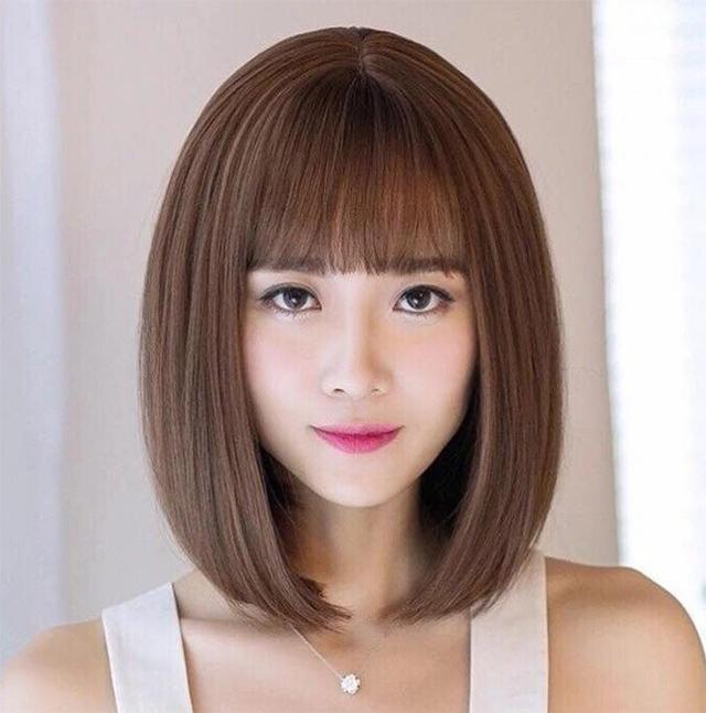 Kiểu tóc ngắn ngang vai đẹp trẻ trung phù hợp với mọi khuôn mặt - 10