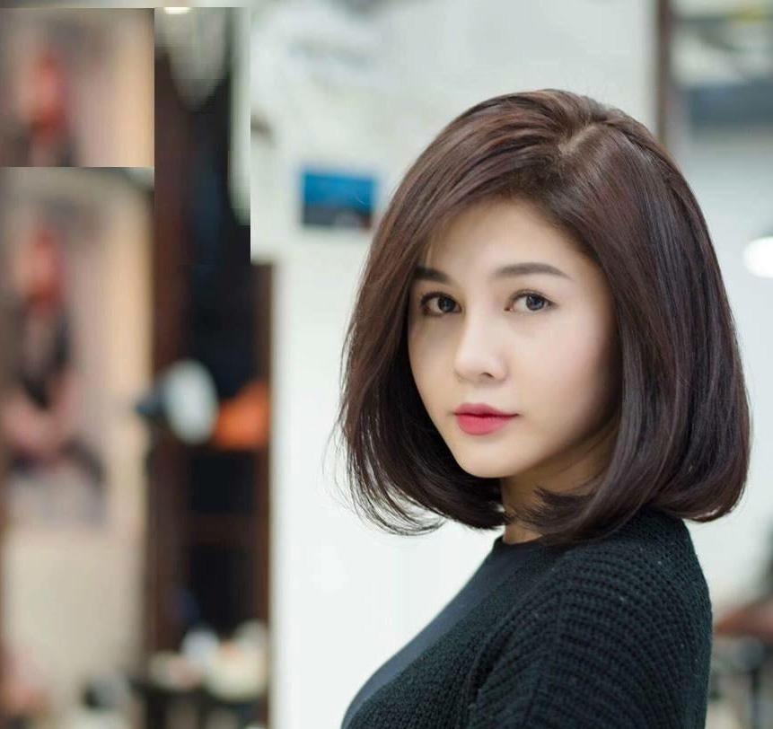 Kiểu tóc ngắn ngang vai đẹp trẻ trung phù hợp với mọi khuôn mặt - 7