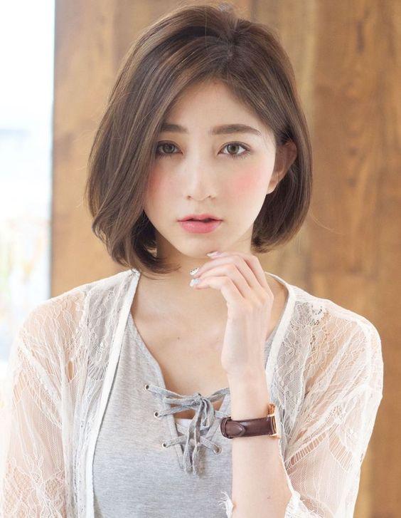 Kiểu tóc ngắn ngang vai đẹp trẻ trung phù hợp với mọi khuôn mặt - 15