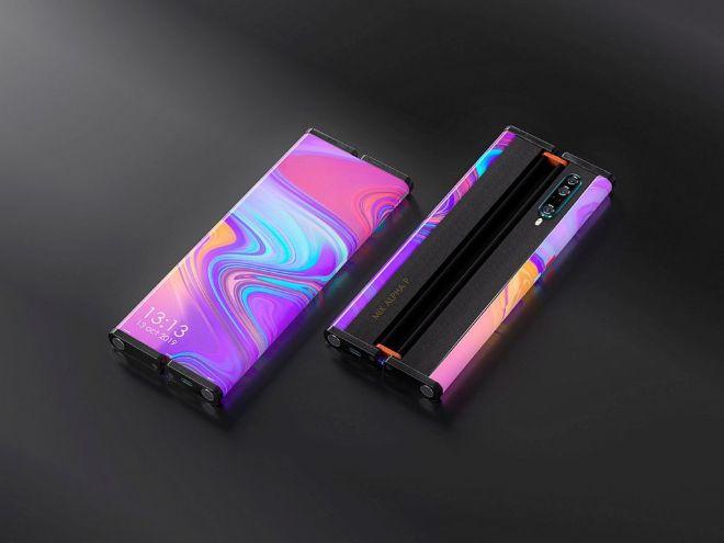 Xiaomi Mi MIX Alpha 2 cuộn lại như trong phim, ngoài sức tưởng tượng - 7