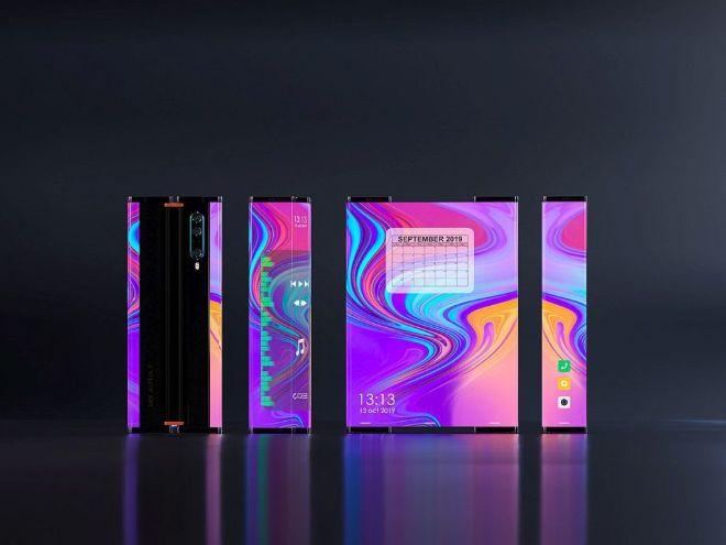 Xiaomi Mi MIX Alpha 2 cuộn lại như trong phim, ngoài sức tưởng tượng - 3