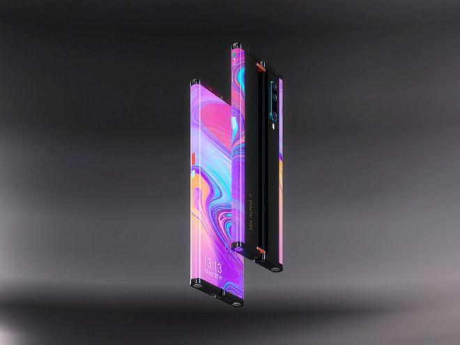 Xiaomi Mi MIX Alpha 2 cuộn lại như trong phim, ngoài sức tưởng tượng - 6