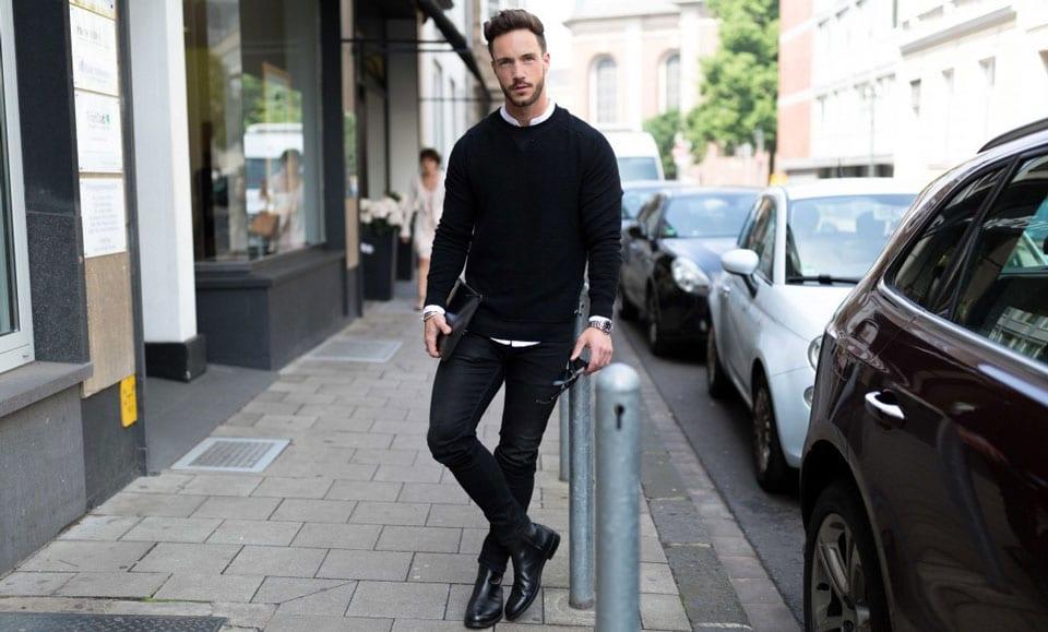 Mách chàng cách mặc quần jean siêu bó không sợ bị chê nữ tính - 1