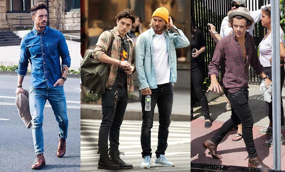 Mách chàng cách mặc quần jean siêu bó không sợ bị chê nữ tính - 3