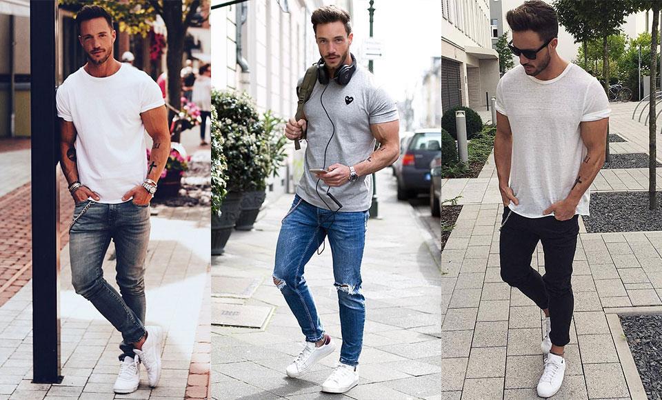 Mách chàng cách mặc quần jean siêu bó không sợ bị chê nữ tính - 2