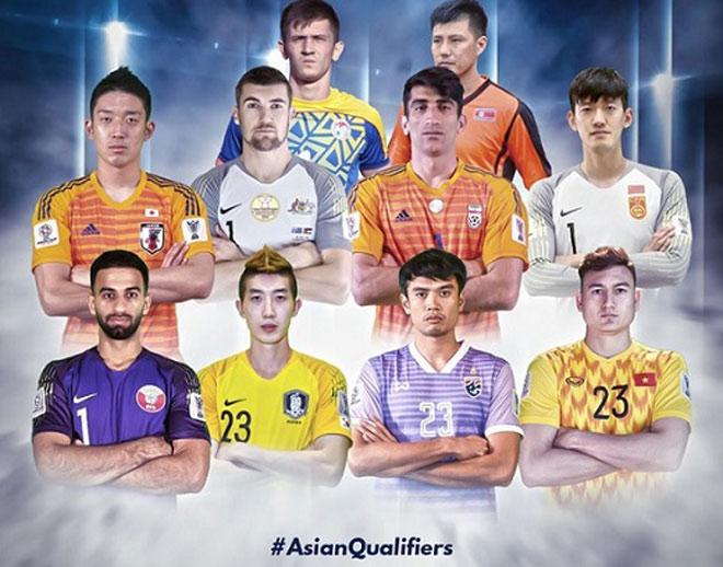 Văn Lâm xuất sắc sánh vai thủ môn Ngoại hạng Anh ở vòng loại World Cup 2022