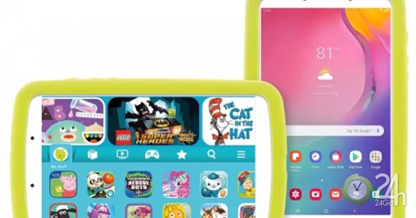 HOT: Samsung trình làng Galaxy Tab A Kids dành cho trẻ em