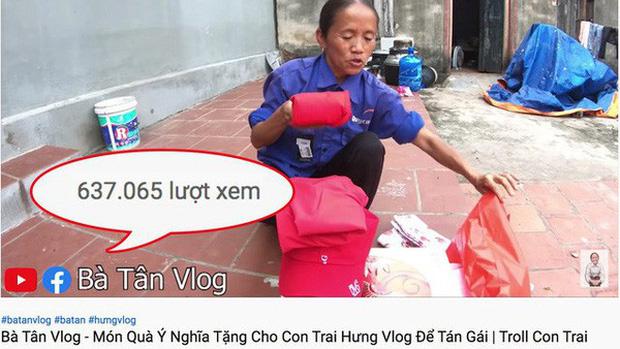 """Bà Tân Vlog đang lao đao, một Youtuber khác nhanh chân soán ngôi với 1,2 triệu """"fan""""? - 2"""