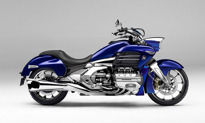 """""""Mãnh thú"""" Honda Valkyrie GL1800C 2020 chuẩn bị trình làng: Vạm vỡ và mạnh mẽ hơn - 3"""