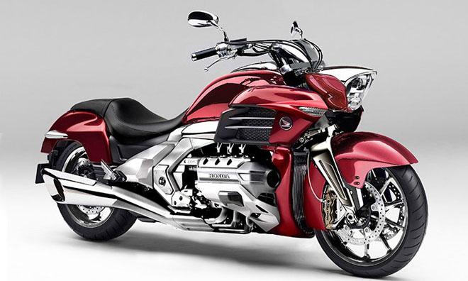 """""""Mãnh thú"""" Honda Valkyrie GL1800C 2020 chuẩn bị trình làng: Vạm vỡ và mạnh mẽ hơn"""