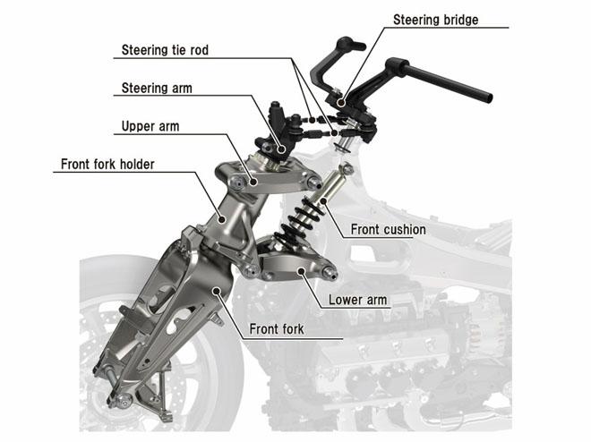"""""""Mãnh thú"""" Honda Valkyrie GL1800C 2020 chuẩn bị trình làng: Vạm vỡ và mạnh mẽ hơn - 2"""