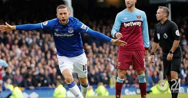 Video highlight trận Everton - West Ham: Siêu phẩm ấn định trận đấu (Vòng 9 Ngoại hạng Anh)