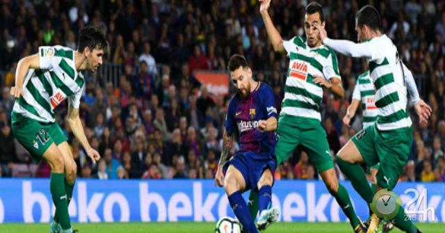 Trực tiếp bóng đá Eibar – Barcelona: Khó cản Messi (Vòng 9 La Liga)-Bóng đá 24h - xs thứ hai