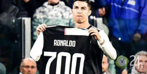 Ronaldo nhận quà siêu to khổng lồ, ghi bàn thứ 701 đáp lễ Juventus