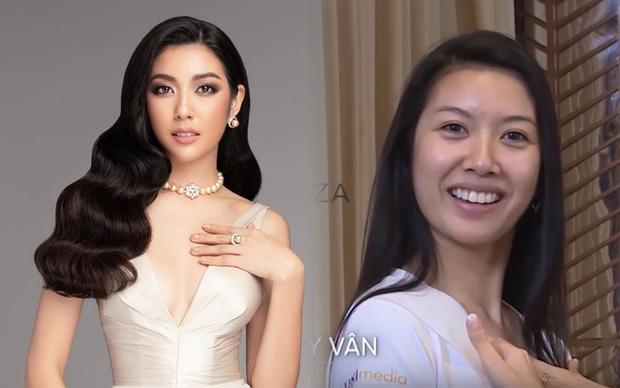 Giật mình với mặt mộc của Á hậu Thúy Vân và thí sinh Hoa hậu Hoàn vũ