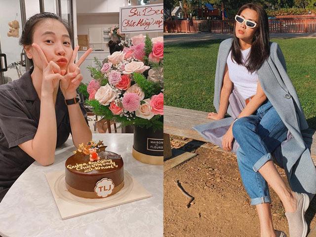 Có chồng đại gia, Đàm Thu Trang và Hà Tăng nhận quà đặc biệt ngày 20/10