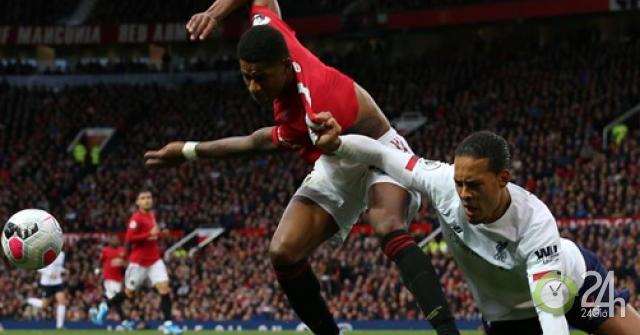 Siêu trung vệ Van Dijk thất thế trước Rashford, kém xa Maguire 80 triệu bảng-Bóng đá 24h