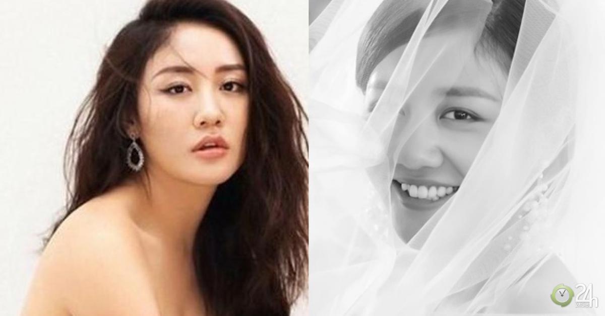 Văn Mai Hương khoe ảnh cô dâu mặc nghi vấn dùng giấy kết hôn giả - Ngôi sao