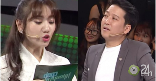 Hari Won lại bị chê bai về cách đọc câu hỏi, khiến Trường Giang phải sửa lỗi - Giải trí