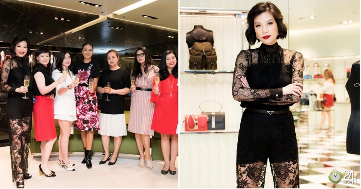 Vũ Cẩm Nhung đọ sắc hoa hậu Hà Kiều Anh cùng loạt chân dài Hà thành - Ngôi sao