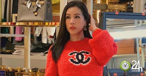 Clip không gian ngập đồ hiệu trong biệt thự triệu đô của hoa hậu Thu Hoài