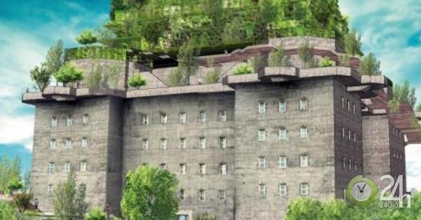 Pháo đài của Đức quốc xã sắp biến thành khách sạn xa xỉ với vườn treo 5 tầng-Thế giới